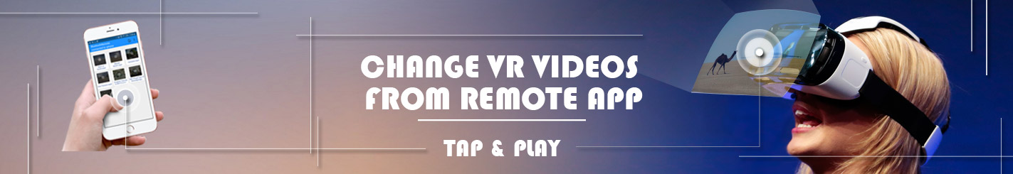 VR Player Remote App